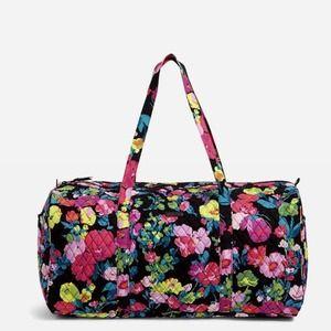 Vera Bradley Large Traveler Duffel Bag Hilo Meadow